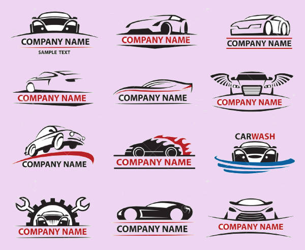 Car Company Icons