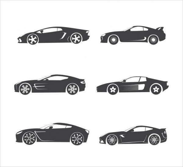 Car Vector Silhouette