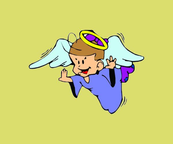 Cartoon Angel Clipart