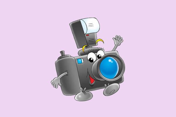 Cartoon Camera Clip Art