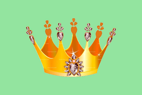 Cartoon Crown Clip Art