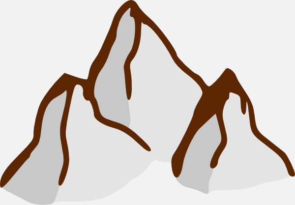 Cartoon Mountain Clipart