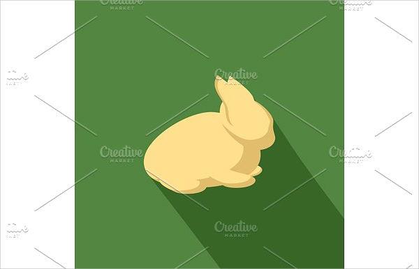 Cartoon Rabbit Silhouette