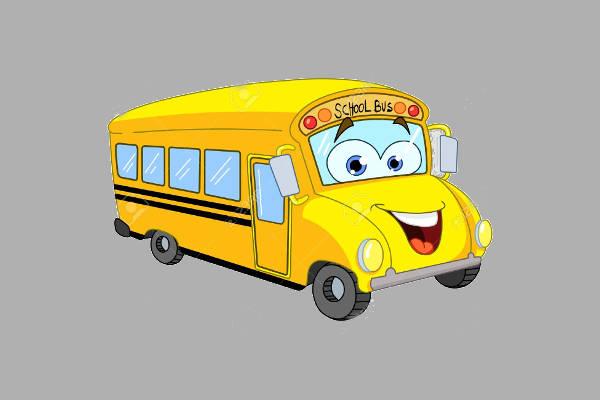 Cartoon School Bus Clipart