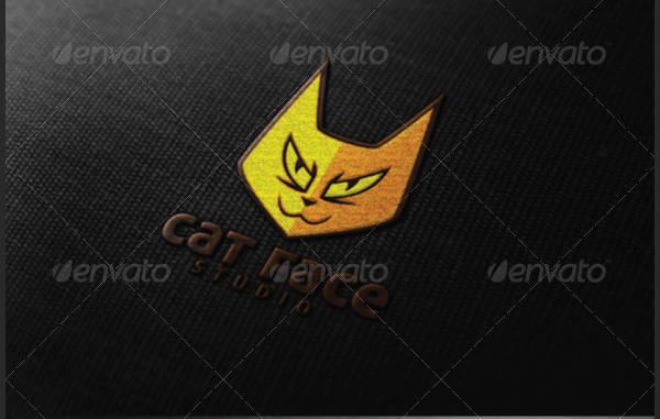 Cat Face Logo