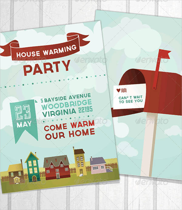 Cheap Housewarming Party Invitation