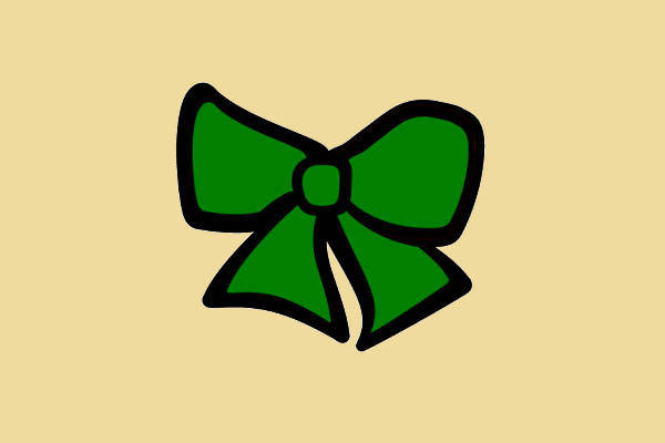 Cheer Bow Clipart