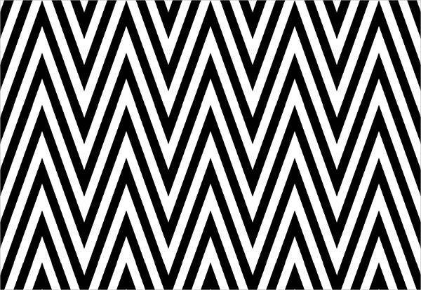 Chevron Black and White Design