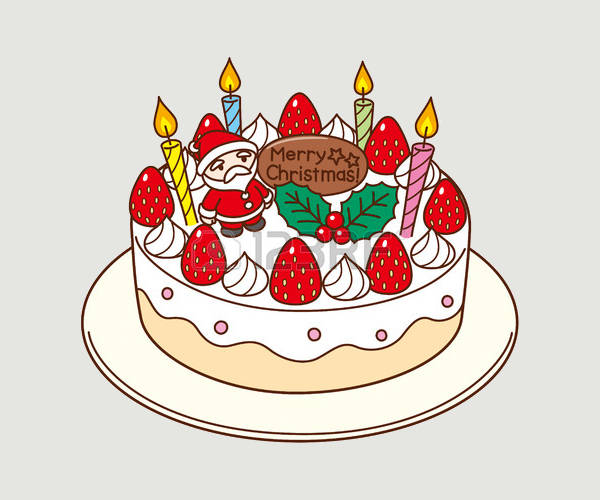 cake clipart christmas vector