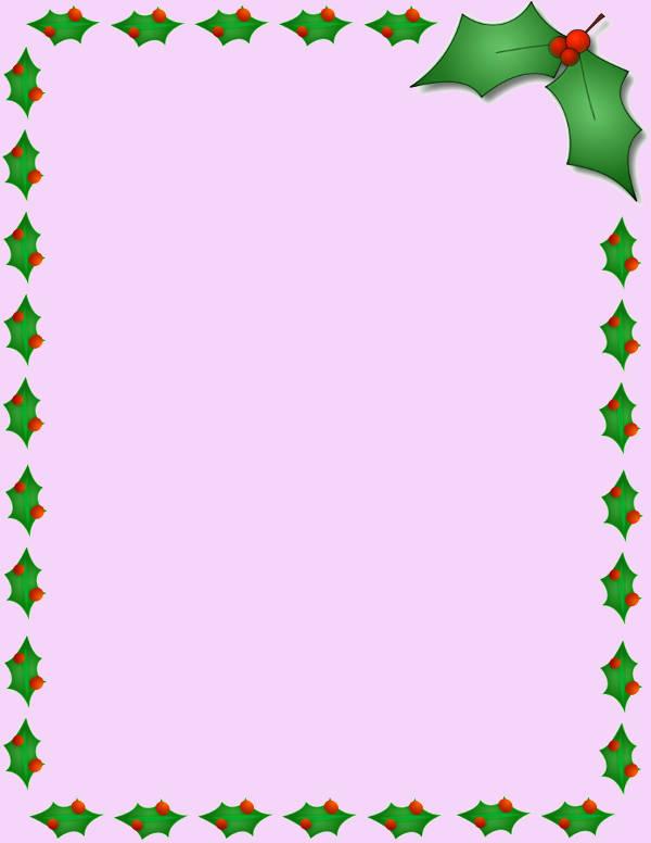 Christmas Clip Art Border