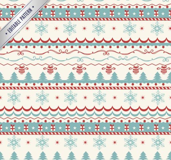 Christmas Vintage Pattern