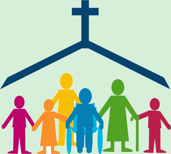 Church Family Clipart