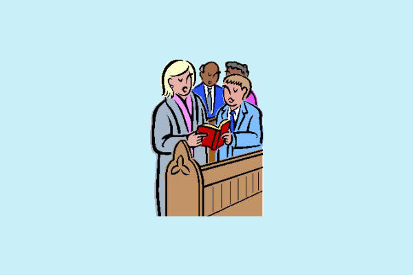 Church People Clipart