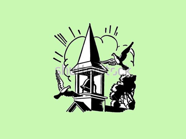 Church Steeple Clipart