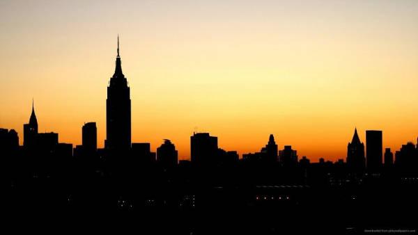 City Night Silhouette