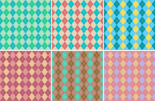 Classic Argyle Pattern Set