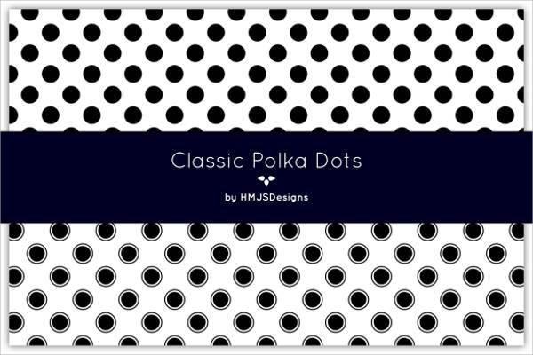 Classic Polka Dot Pattern