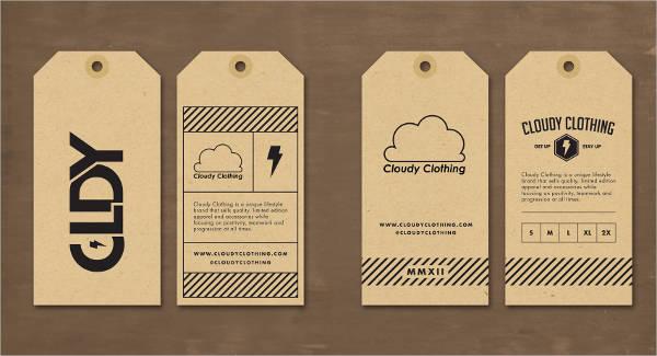 Clothing Hang Tag Design