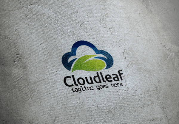 Cloud Leaf Vector