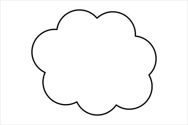 Cloud Outline Clipart