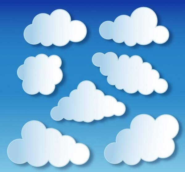 Cloud Outline Vector