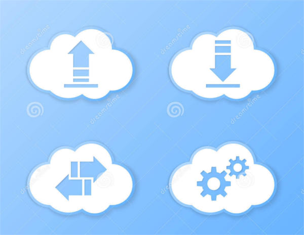 Cloud Storage Icons