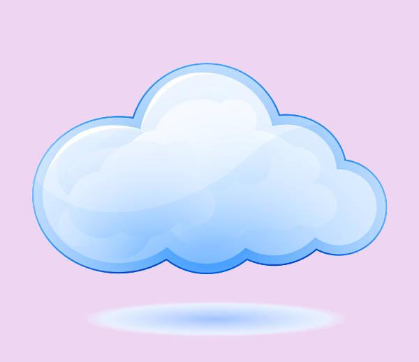 Cloud Vector Clipart
