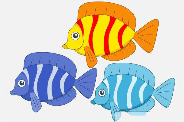 Collection of Fish Clipart