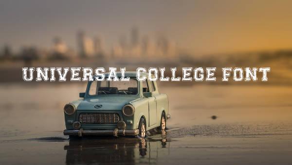 9+ College Fonts - Free TTF, OTF Format Download
