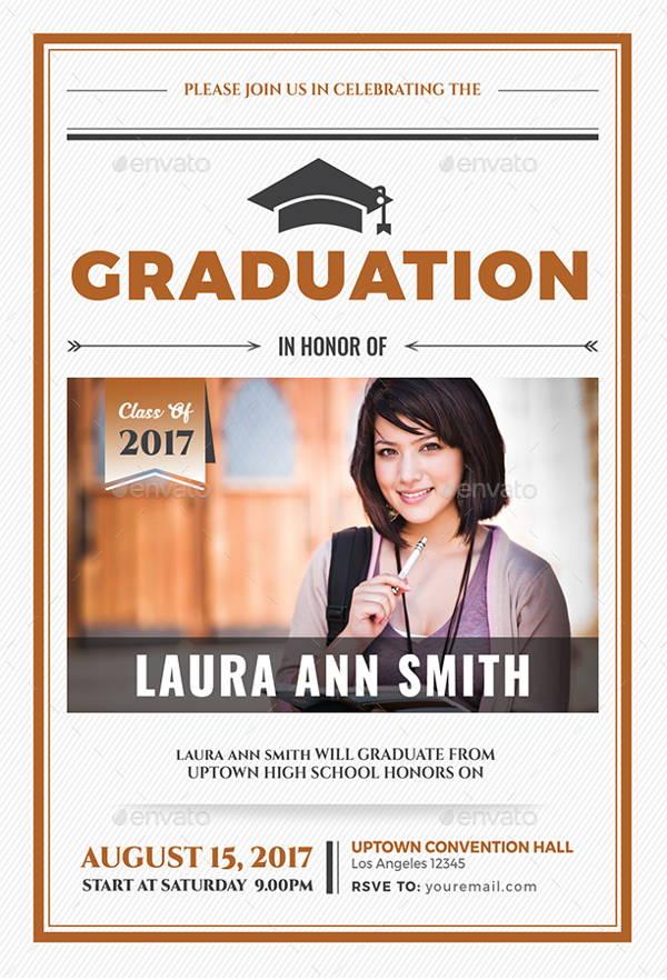 College Graduation Celebration Invitation