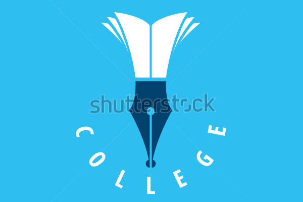 College Library Logo