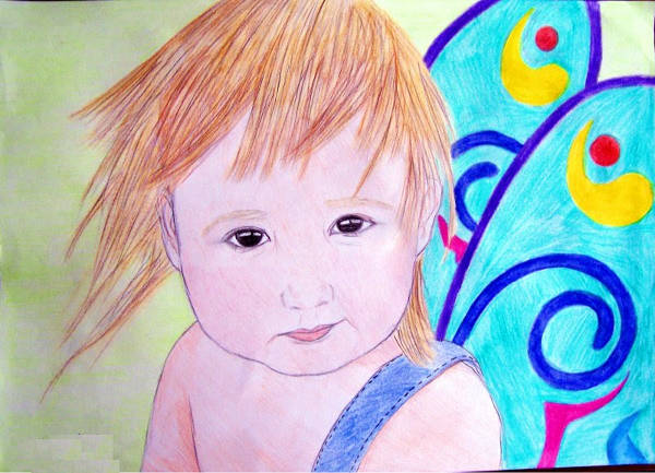 Colorful Baby Drawing