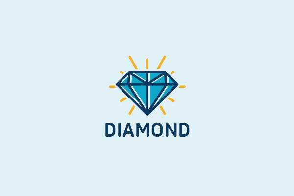 Colorful Diamond Logo