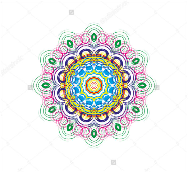 Colorful Mandala Pattern