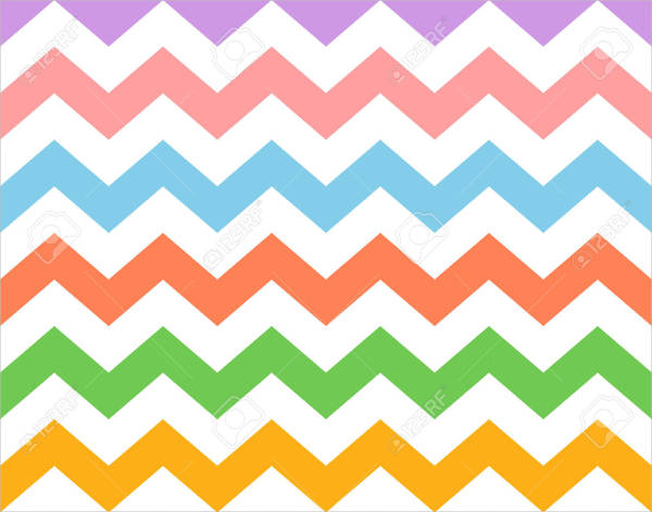 Colorful Zig Zag Pattern