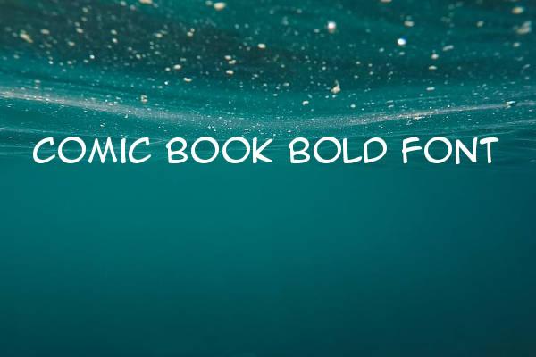 Comic Book Bold Font
