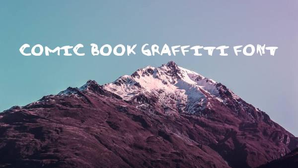 Comic Book Graffiti Font