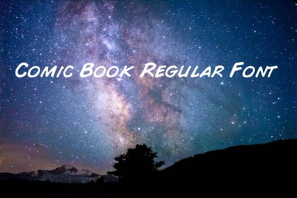 Comic Book Regular Font