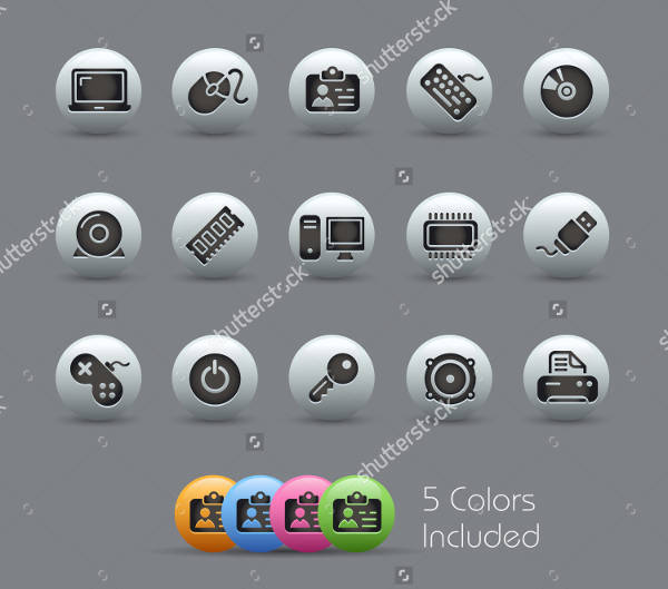 Computer Accessories Icons