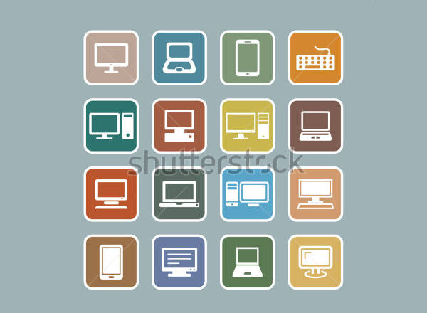 Computer Server Icons