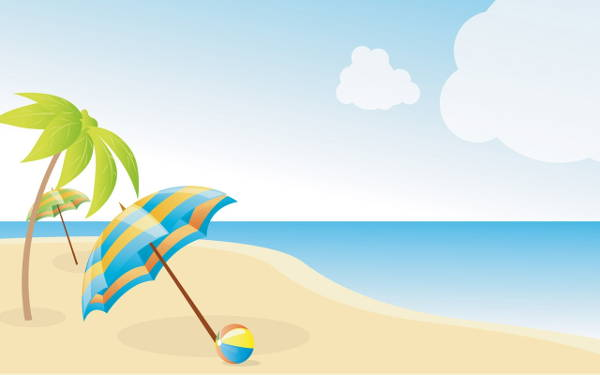 Cool Beach Clipart
