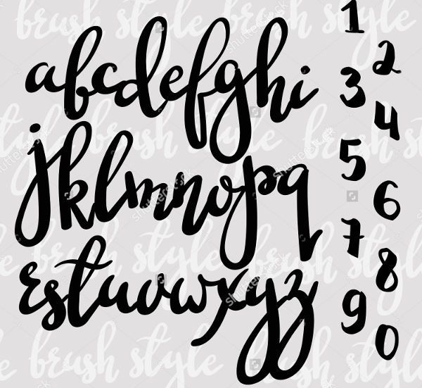 Cool Calligraphy Letters