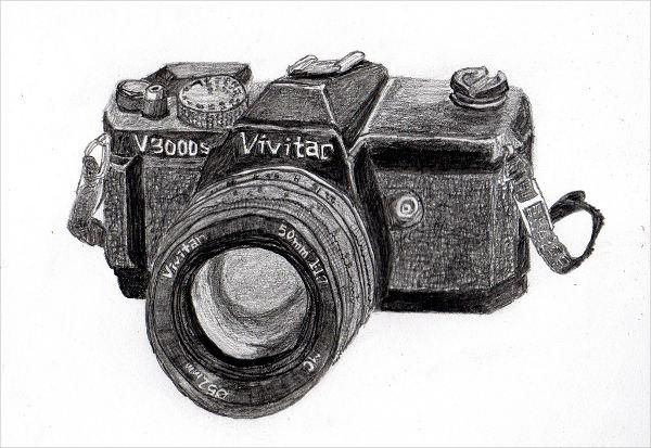 Cool Camera Drawing