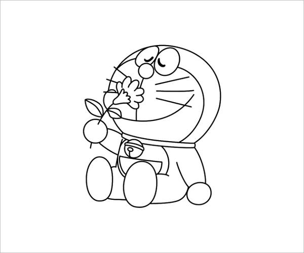 Cool Cartoon Coloring Page