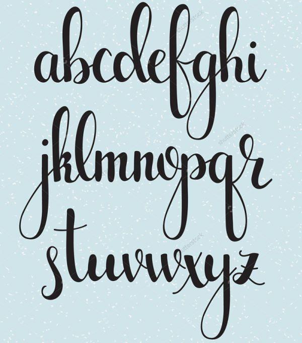Cool Cursive Letters