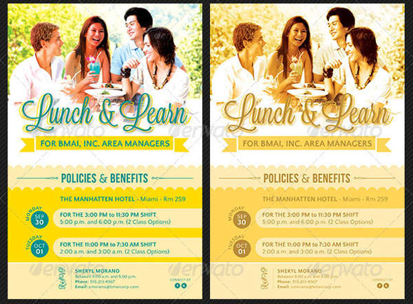 corporate lunch party