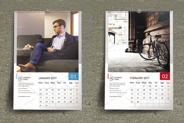 Corporate Photo Calendar