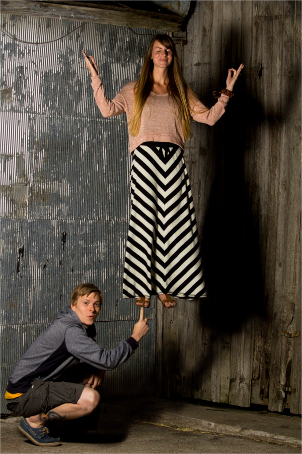 Couple Levitation Photography