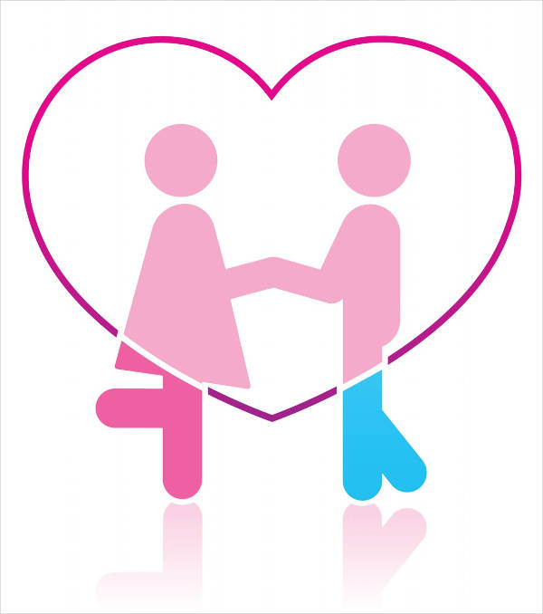 Couple in Love Clipart