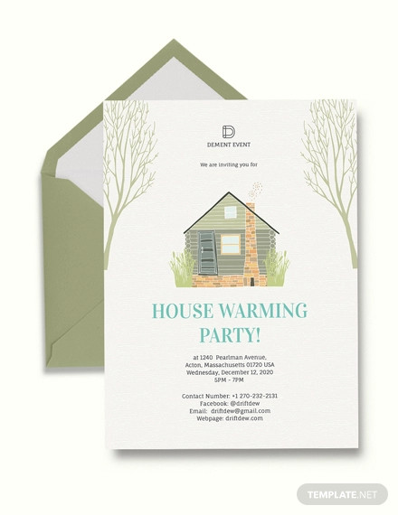 creative housewarming party invitation